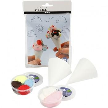Mini kit creativo, coni gelato, 1 set