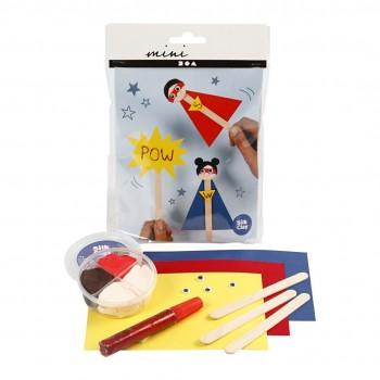 Mini kit creativo, supereroe, 1 set