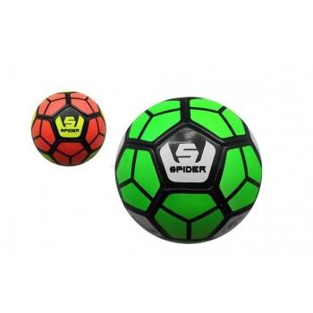 Pallone calcio in cuoio modello spider size 5 - colori assortiti