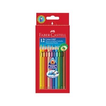Pastelli acquerellabili Color Grip Faber Castel da 12l