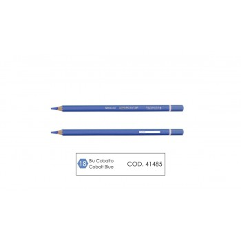 Pastello mina 4.0 colore blu cobalto
