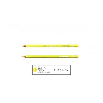 Pastello mina 4.0 colore giallo fluo