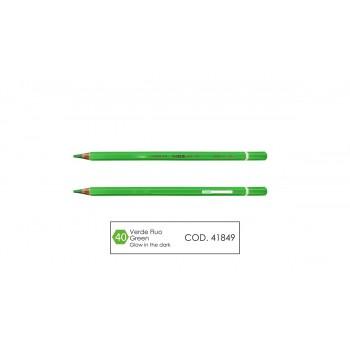 Pastello mina 4.0 colore verde fluo