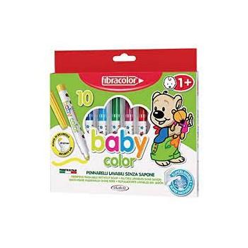 Pennarelli Baby Color 10 colori