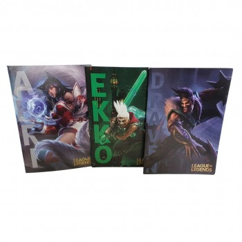 Quaderno a4 maxi 1r league of legends