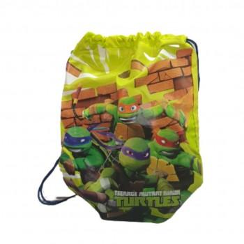 Teenage mutant ninja turtles sacca collezione scuola