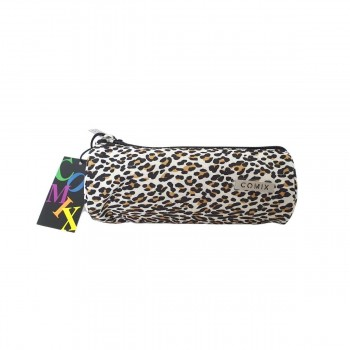 Tombolino allover leopard comix