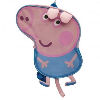 Zainetto sagomato peppa pig - george & suzy