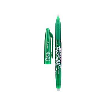 Penna cancellabile con tappo Pilot Frixion verde