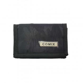 All over comix portafoglio classico blu e nero