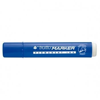 Pennarello Tratto Marker punta tonda blu