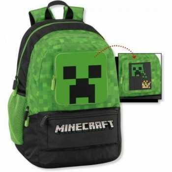 Zaino organizzato Minecraft