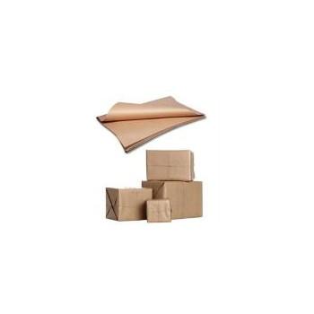 Carta da pacco/imballo avana piegata 100x140