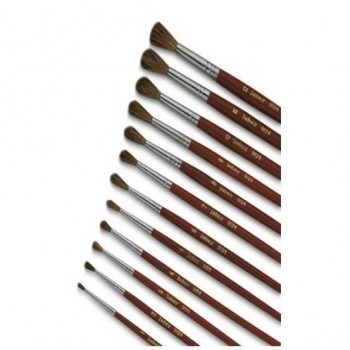 Pennello punta tonda n.7
