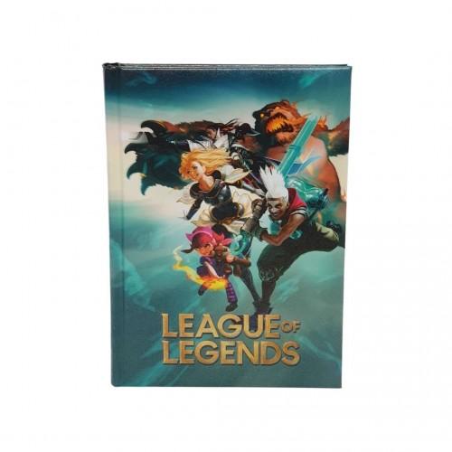 Diario 12m std league of legends